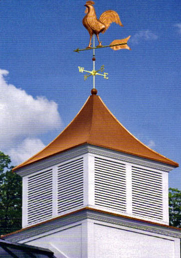 Cupolas weathervanes outdoor accents for Cupola with weathervane