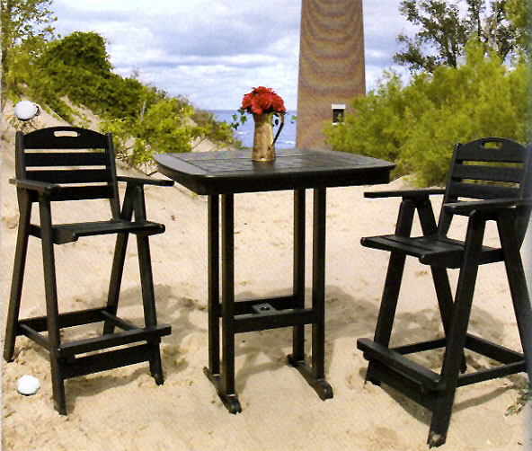 Poly Black Table