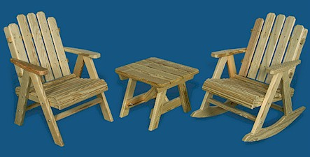 Superior Outdoor Wooden Chairs