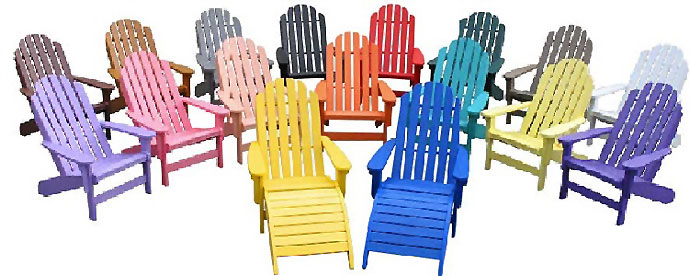 Poly Lumber Chairs - Recycled plastic